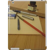 Pens And Paper iPad Case/Skin
