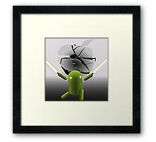 Android vs Apple Framed Print