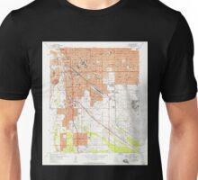 USGS TOPO Map Arizona AZ Tucson 313814 1957 24000 Unisex T-Shirt
