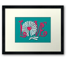 Love Oracle Framed Print