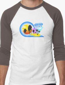 Welcome to Walker Beach Men's Baseball ¾ T-Shirt