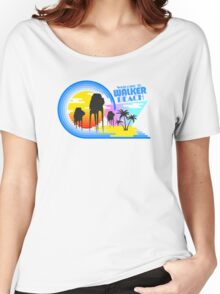 Welcome to Walker Beach Women's Relaxed Fit T-Shirt