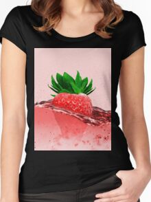 Erdbeere (VEGAN) Women's Fitted Scoop T-Shirt