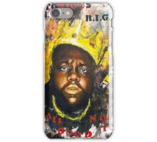 Biggie Tribute iPhone Case/Skin