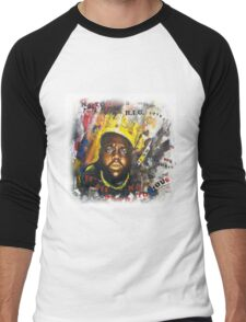 Biggie Tribute Men's Baseball ¾ T-Shirt