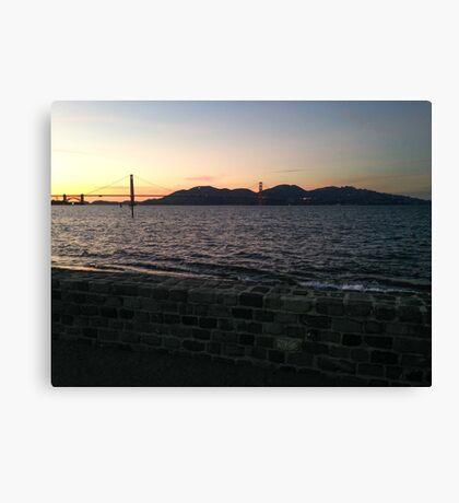 San Francisco Bay (Dusk) Canvas Print