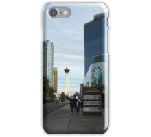Las Vegas North Strip iPhone Case/Skin