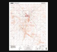 USGS TOPO Map Arizona AZ Tombstone 313759 1996 24000 Unisex T-Shirt