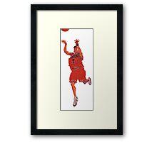 Miyagi - Slam Dunk Framed Print