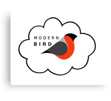 Modern bird Canvas Print