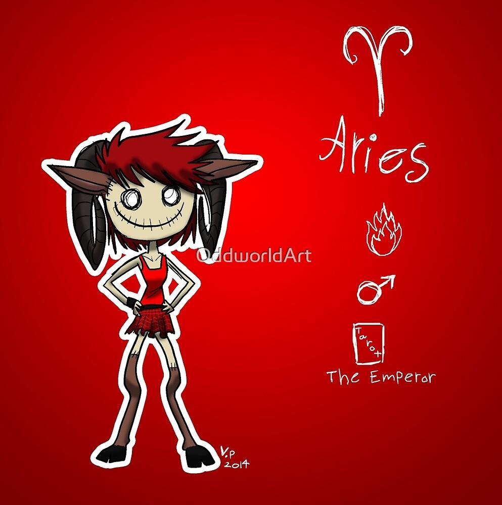 Astrology - Aries by OddworldArt
