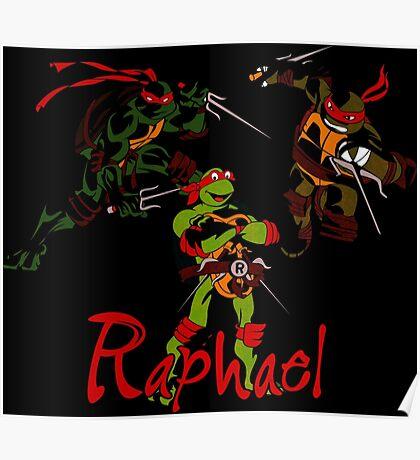 3 X Raphael Poster