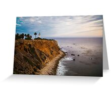 Palos Verdes, CA Greeting Card