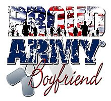 Proud Army Boyfriend Photographic Print