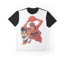 Sakuragi VS Nobunaga - Slam Dunk Graphic T-Shirt