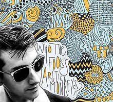 Who the Fook Are the Arctic Monkeys? design by Dalal Semprun