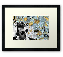 Who the Fook Are the Arctic Monkeys? design Framed Print