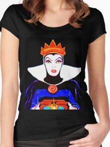 """Mirror, Mirror"" ... Women's Fitted Scoop T-Shirt"