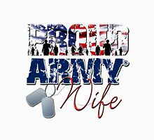 Proud Army Wife Unisex T-Shirt