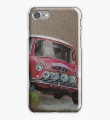Mini Cooper Rally Car iPhone Case/Skin