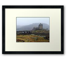 Scottish Castle in the Mist Framed Print