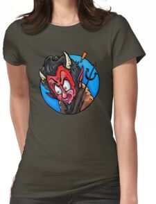 The Devil Womens Fitted T-Shirt