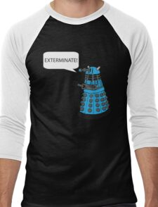 Dalek - Exterminate! Men's Baseball ¾ T-Shirt