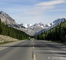 Icefields Parkway by Marie  Cardona