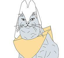 Bucket the Cat Sketch 2 by robstantoncook
