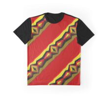 Colorful Stripes Graphic T-Shirt