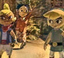 Zelda and friends Sticker