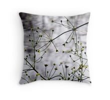 Down by the Ponds Throw Pillow