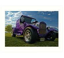 1927 Ford Panel Truck Art Print