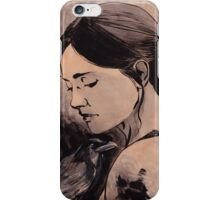 Face the Raven iPhone Case/Skin