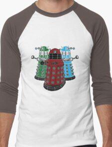 Daleks Men's Baseball ¾ T-Shirt