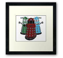 Daleks Framed Print