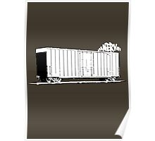 Lone boxcar Poster