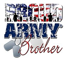 Proud Army Brother Photographic Print