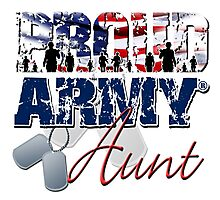Proud Army Aunt Photographic Print