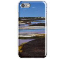 A Lake in The Nullarbor Destert iPhone Case/Skin