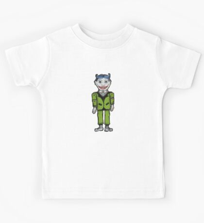 Tillie Funny Face  Kids Tee