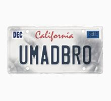 License Plate - umadbro by TswizzleEG