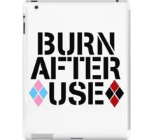 BURN AFTER USE iPad Case/Skin