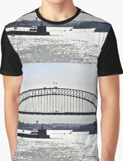 Late Afternoon On The Harbour Graphic T-Shirt