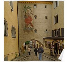 Archway with St. Christopher, Passau 15 Poster