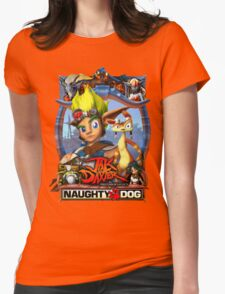 Jak & Daxter - Promo Poster Womens Fitted T-Shirt