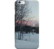 Reindeer at Sundown iPhone Case/Skin