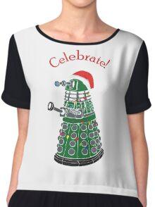 Dalek - Celebrate! Chiffon Top