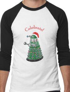 Dalek - Celebrate! Men's Baseball ¾ T-Shirt