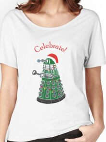 Dalek - Celebrate! Women's Relaxed Fit T-Shirt